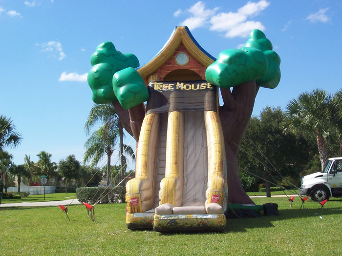 kids tree houses with slides. Inflatable Slides In Broward And Palm Beach, FL Kids Tree Houses With U